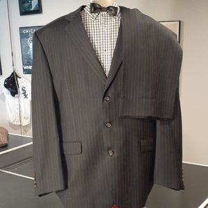 Men Pin Striped Suit by Laren Ralph Lauren  48L